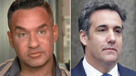 """Mike """"The Situation"""" Sorrentino and Michael Cohen"""