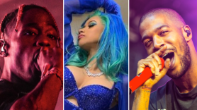 Travis Scott (Amy Price), Cardi B, Kid Cudi (Philip Cosores)