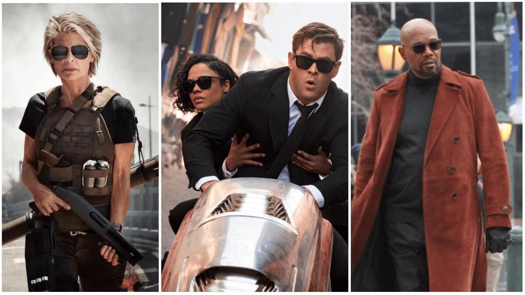 Terminator, Men In Black: International, Shaft