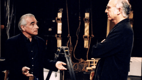 Martin Scorsese in Curb Your Enthusiasm (HBO)