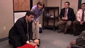 Michael Scott, The Office, CPR, Season Five, 2009, Steve Carell