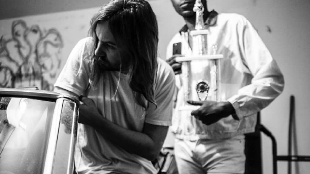"""Theophilus London and Tame Impala's Kevin Parker """"Whiplash"""" new song stream"""