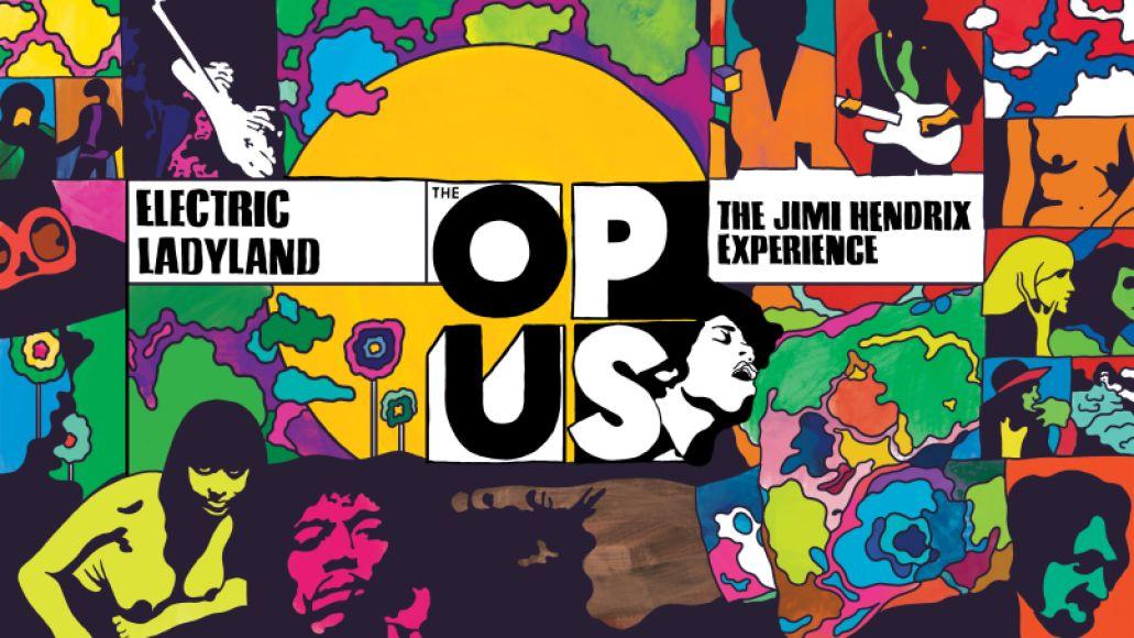 The Opus: Jimi Hendrix, artwork by Steven Fiche