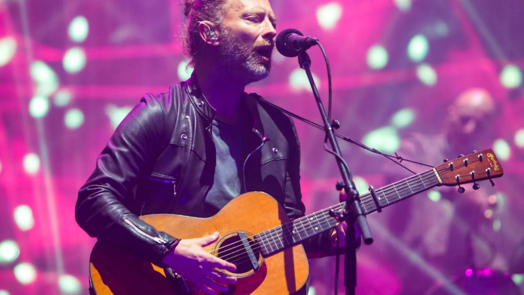 Thom Yorke, Photo by Philip Cosores