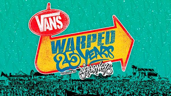 Warped Tour 25th Anniversary