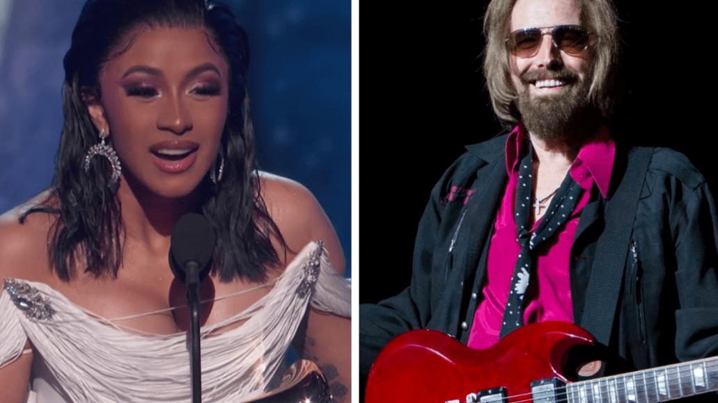 Cardi B thanks Tom Petty flowers 2019 Grammys