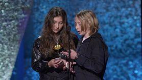 Chris Cornell's children accept his Grammy Award