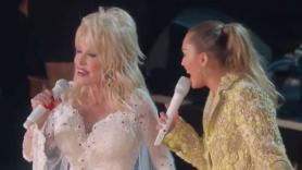 Dolly Parton tribute 2019 Grammy Awards miley cyrus