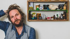 Hiss Golden Messenger MC Taylor M.C. Taylor photo by Graham Tolbert new song release Watching the Wires Everybody Needs Somebody