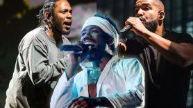 Kendrick Lamar Drake Childish turn down 2019 grammy performances