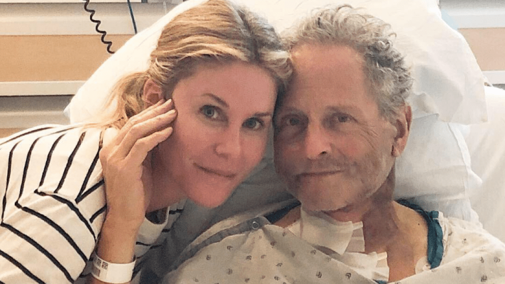 Lindsey Buckingham with his wife Kristen