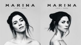 MARINA Marina and the Diamonds LOVE + FEAR Love and fear album artwork release date new tour dates