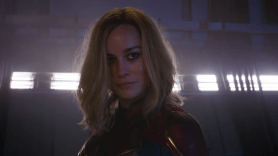 Brie Larson, Captain Marvel, Marvel Studios, Superhero Movie, Action, Super Bowl