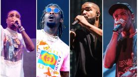 Quavo, Offset, Drake, Travis Scott, Hip-Hop, Los Angeles, The Forum