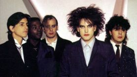 The Cure (Andy Anderson pictured second from left)