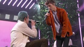 "Troye Sivan Lauv ""i'm so tired"" Jimmy Kimmel Live TV performance video"