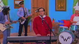 Weezer High As A Kite Living in LA Music Video New Songs Black Album Mr Rivers' Neighborhood