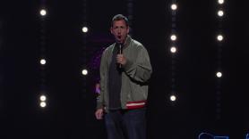 Adam Sandler Announces Summer Tour 100% Fresher, Sreengrab from 100% Fresh Netflix Special