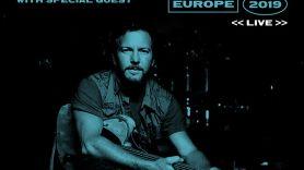 Eddie Vedder 2019 European Solo Tour