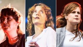 The Strokes (Carlo Cavaluzzi), Florence & The Machine, Christine & The Queens (Autumn Andel)