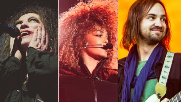 The Cure (Debi Del Grande), Janet Jackson (Solaiman Fazel), Tame Impala (Philip Cosores)