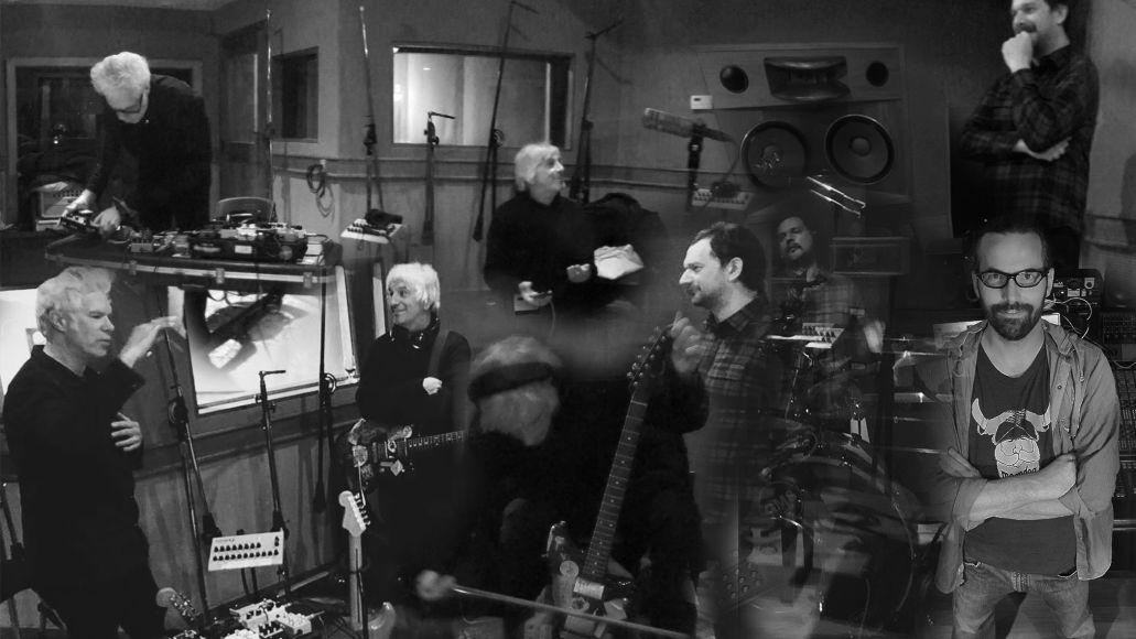 Lee Ranaldo/Jim Jarmusch/ Marc Urselli/Balazs Pandi, Photo by William Semeraro, Black and White, Norway