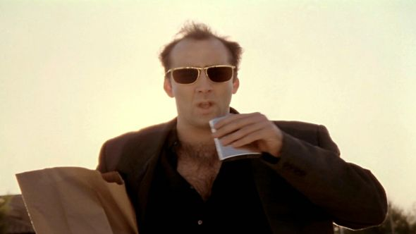 Nic Cage in Leaving Las Vegas