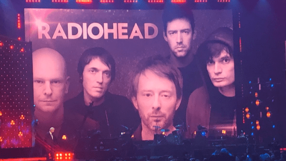 Radiohead inducted into Rock & Roll Hall of Fame