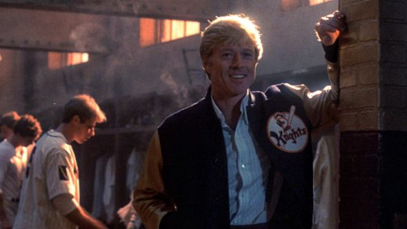 Robert Redford in the Natural