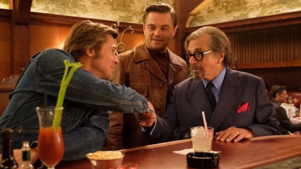 Once Upon a Time in Hollywood, Sony, Leonardo DiCaprio, Al Pacino, Brad Pitt, New Trailer