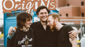 The Front Bottoms and Kevin Devine, photo by Sophia Juliette origins rhode island cover devinyl splits