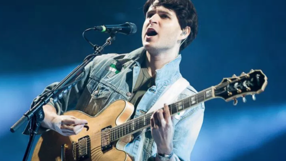 "Vampire Weekend, photo by Debi Del Grande ""Harmony Hall"", ""Sunflower"", and ""2021"" bbc radio 6 performance"