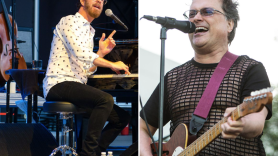 Ben Folds (photo by Ben Kaye) and Violent Femes (photo by Philip Cosores) co-headlining summer 2019 tour dates