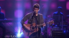 John Mayer Ellen DeGeneres Show I guess I just feel like performance