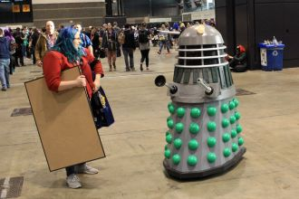 C2E2, Cosplay, Comic Books, Chicago, Convention, Con, Superheroes, Doctor Who