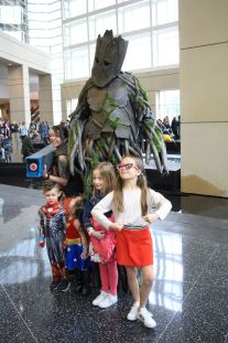 C2E2, Cosplay, Comic Books, Chicago, Convention, Con, Superheroes, Groot