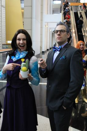 C2E2, Cosplay, Comic Books, Chicago, Convention, Con, Superheroes, The Good Place