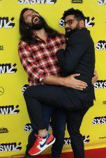 Kayvan Novak, Mousa Kraish, The Day Shall Come, SXSW, Red Carpet Photo, Heather Kaplan
