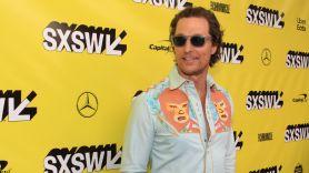 The Beach Bum, SXSW, Red Carpet, Matthew McConaughey