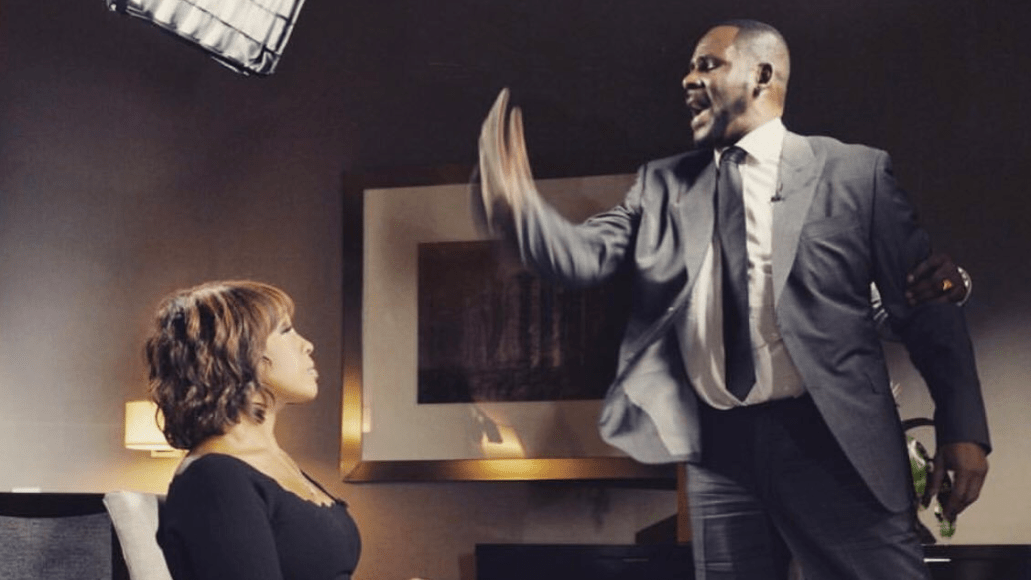 R Kelly with Gayle King