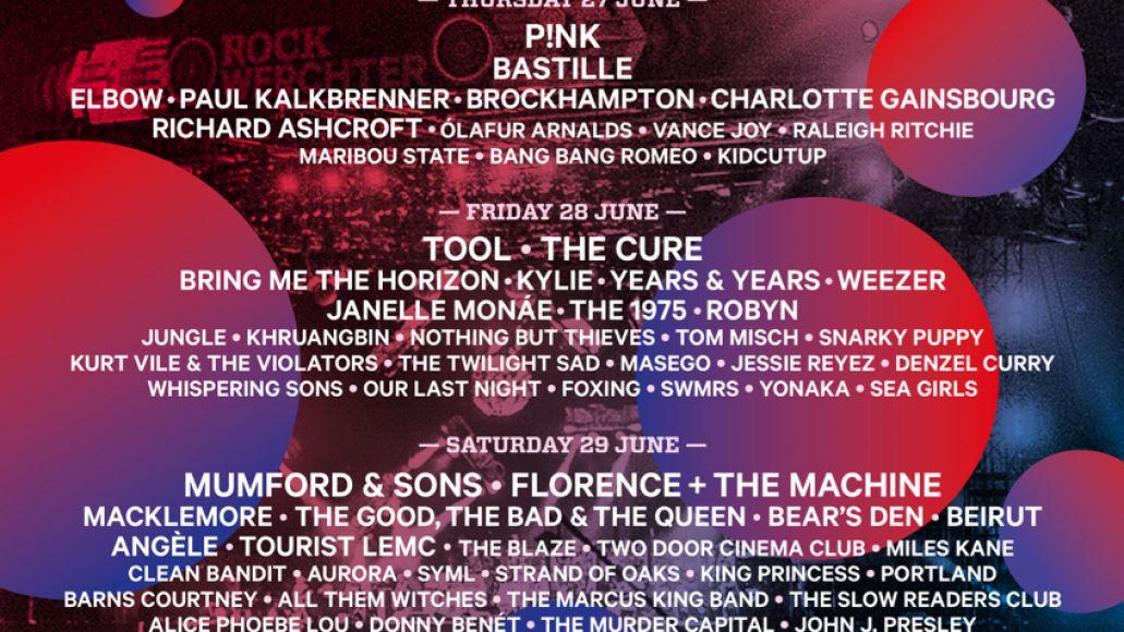 Rock Werchter 2019 lineup