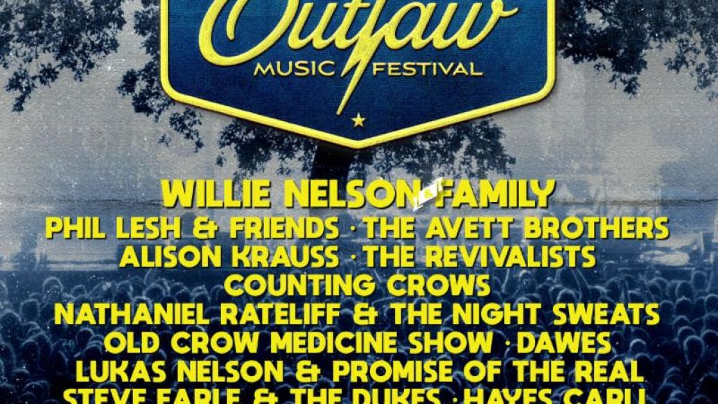 willie nelson outlaw festival 2019 lineup