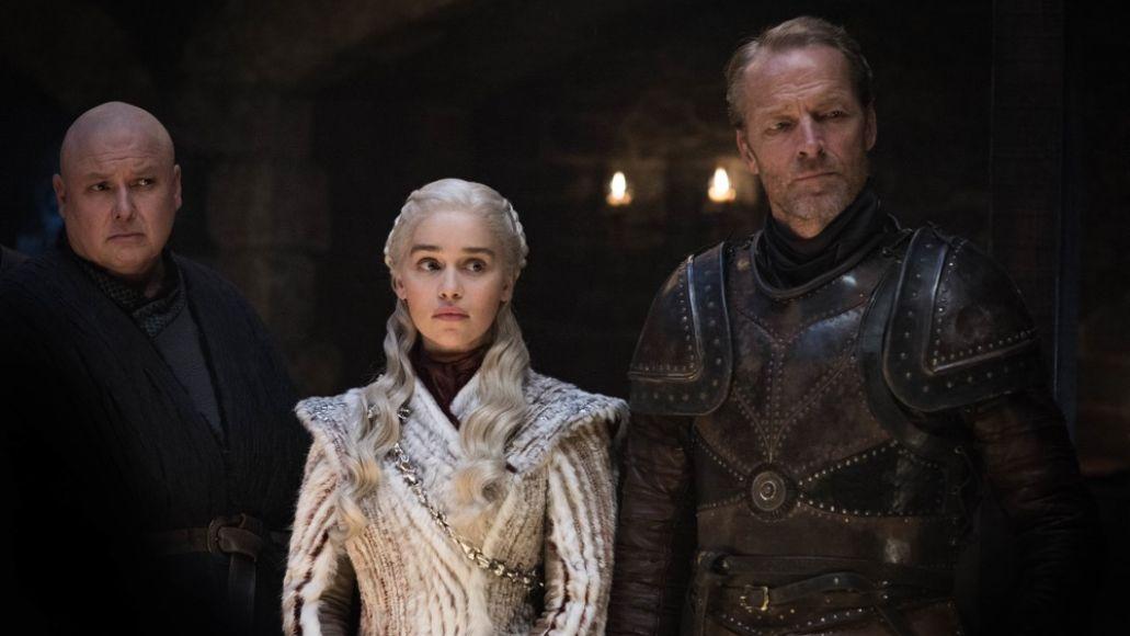 Emilia Clarke, Iain Glen, Game of Thrones