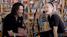 Better Oblivion Community Center Conor Oberst and Phoebe Bridgers NPR Tiny Desk Concert Little Trouble