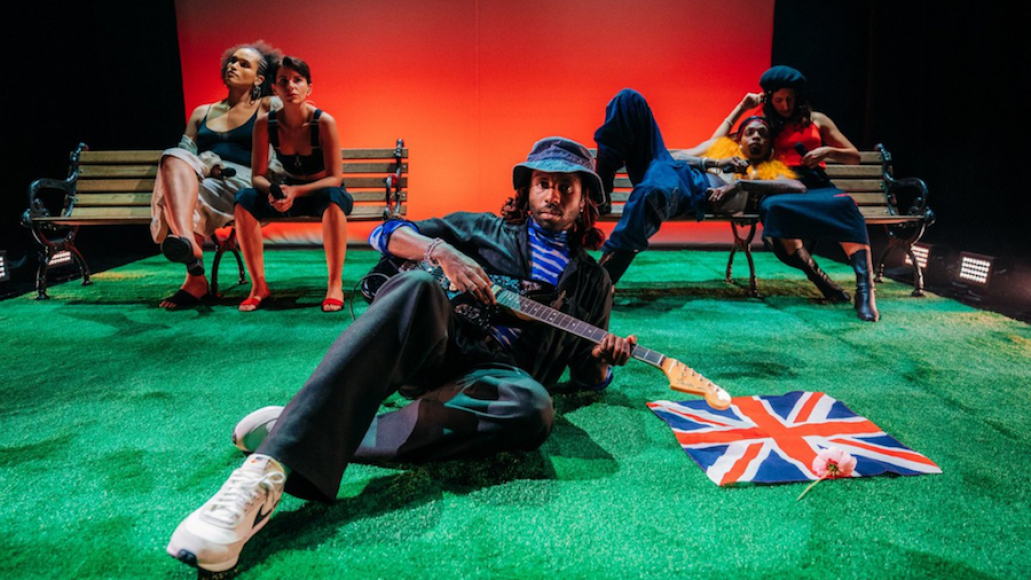 """Blood Orange on The Late Late Show with James Corden, photo by Terence Patrick:CBS Something to Do"""" and """"Dark & Handsome"""" New Song"""