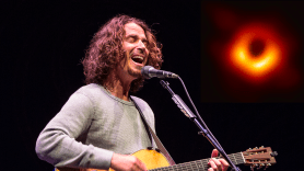 Chris Cornell with Black Hole inset