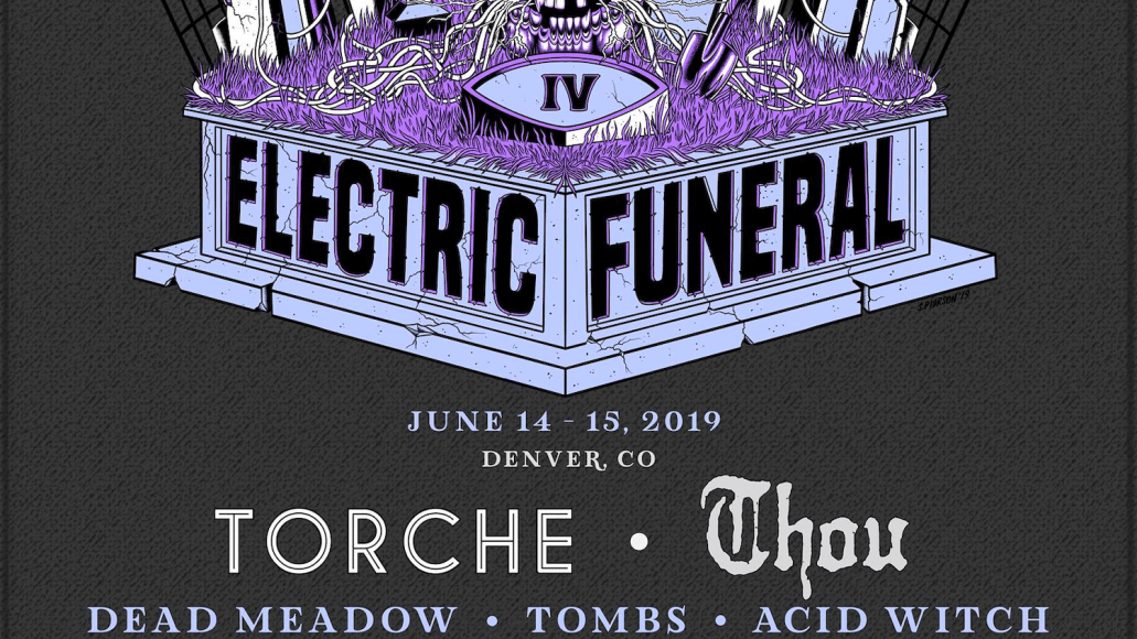 Electric Funeral IV poster 2019