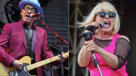 Elvis Costello (Brittany Brassell) and Blondie (Autumn Andel)