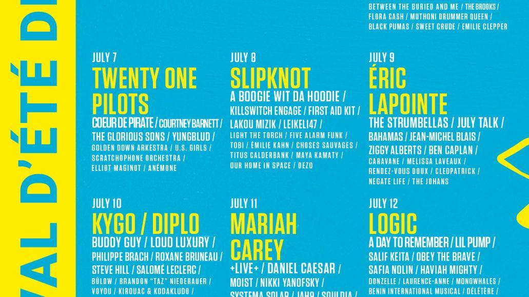 Festival Quebec 2019 Lineup