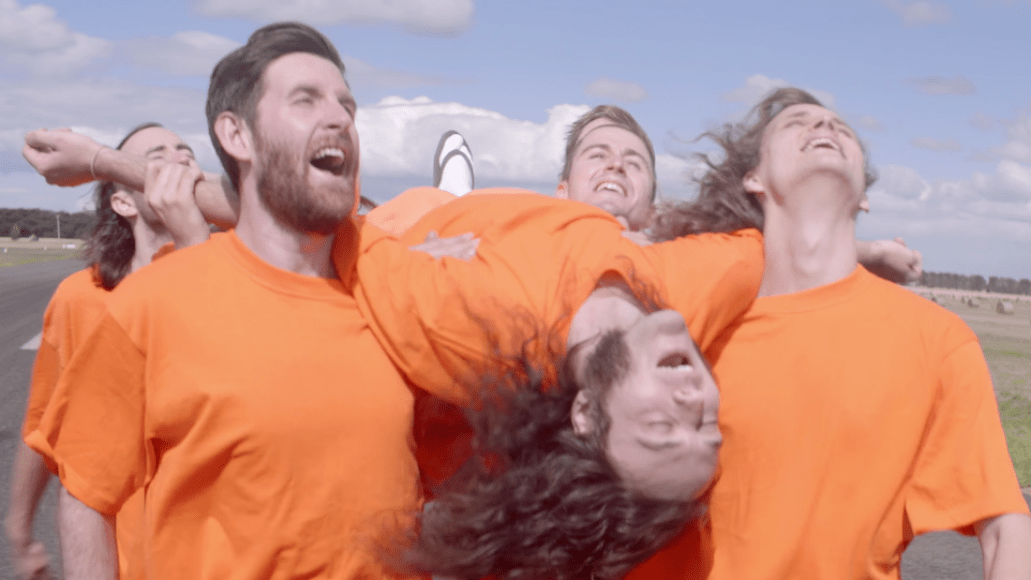 """King Gizzard & the Lizard Wizard, screengrab from """"Planet B"""", share new single and music video"""